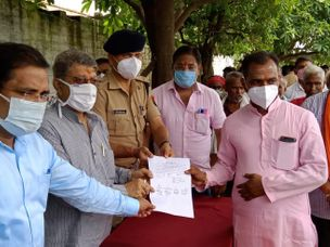 अयोध्या एयरपोर्ट को हुआ टेंडर, जल्द शुरू होगा काम; 28 किसानों को मिला पुनर्वास प्रमाण पत्र|अयोध्या,Ayodhya - Money Bhaskar