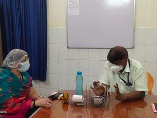 जिला प्रमुख ने किया सआदत अस्पताल का निरीक्षण, पीएमओ से बोलीं मरीजों को भर्ती करने में नहीं हो आनाकानी|राजस्थान,Rajasthan - Dainik Bhaskar