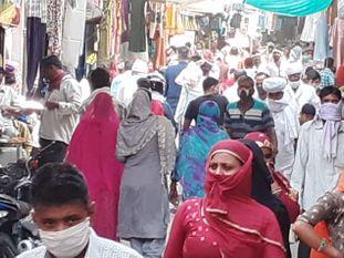 60 नए पॉजिटिव आए सामने, कुल संक्रमितों की संख्या बढ़कर हुई 11099, CMHO ने हॉस्पिटलों का निरीक्षण कर जांची व्यवस्थाएं|नागौर,Nagaur - Dainik Bhaskar