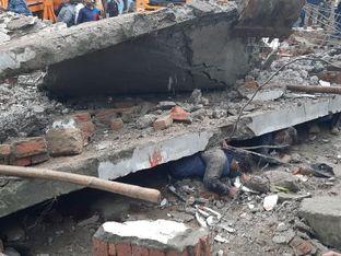 मुरादनगर के शमशान घाट में छत गिरने से हुई थी 25 मौतें, आर्थिक सहायता व आरोपियों पर कार्रवाई की रिपोर्ट आयोग ने मांगी|गाजियाबाद,Ghaziabad - Money Bhaskar