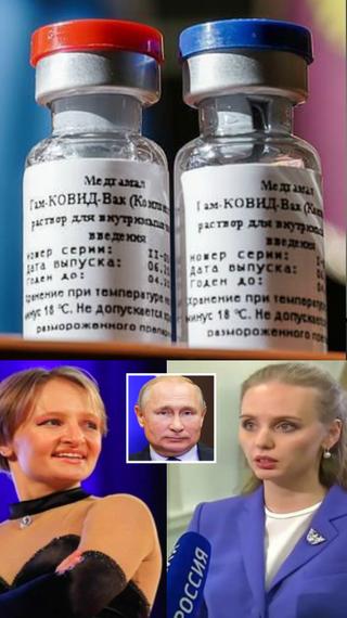 राष्ट्रपति पुतिन की बेटी को वैक्सीन देने के बाद शरीर का तापमान गिरा, काफी संख्या में एंटीबॉडीज बनीं; वैक्सीन की पहली आधिकारिक तस्वीर सामने आई