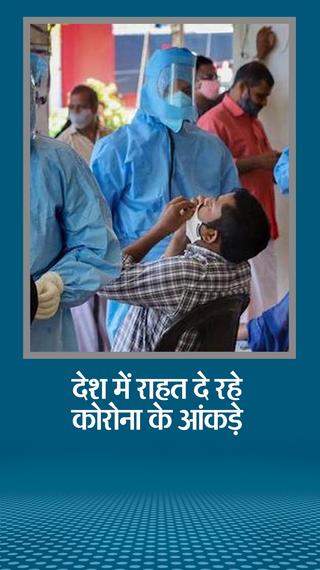 संक्रमितों का आंकड़ा 59 लाख के पार, लेकिन राहत की बात कि अब एक्टिव केस कम हो रहे, 14 दिन पहले 9.73 लाख थे, अब 9.61 लाख - देश - Dainik Bhaskar