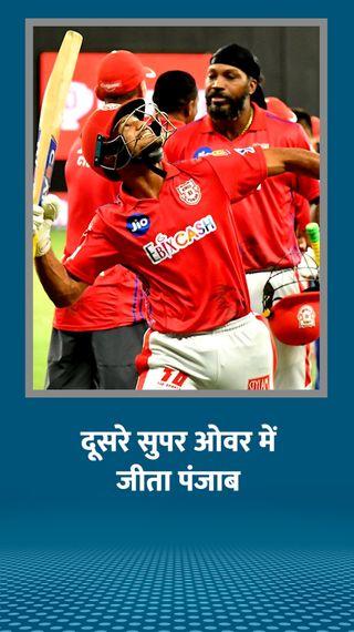 कप्तान राहुल बोले- सुपर ओवर में शमी सिक्स यॉर्कर करना चाहते थे; हार के बाद रोहित पड़े बीमार: पोलार्ड ने कहा- वह फाइटर हैं - IPL 2020 - Dainik Bhaskar