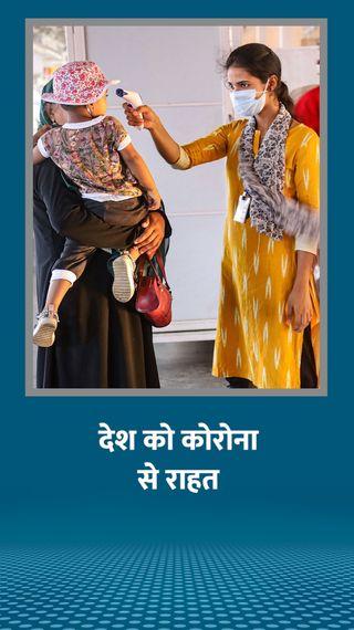 7 दिन में 1.14 लाख एक्टिव केस कम हुए, मौत के आंकड़े में भी एक हजार की कमी आई; अब तक 78.63 लाख केस - देश - Dainik Bhaskar