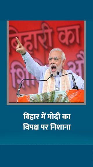 तेजस्वी को जंगलराज का युवराज बताया, राजद के लिए बोले- किडनैपिंग इंडस्ट्री का कॉपीराइट इन्हीं लोगों के पास - बिहार चुनाव - Dainik Bhaskar