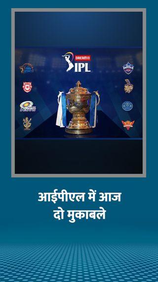 प्ले-ऑफ के लिए दिल्ली का मुकाबला मुंबई से; शाम को बेंगलुरु-हैदराबाद आमने-सामने - IPL 2020 - Dainik Bhaskar
