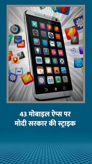 केंद्र ने 43 मोबाइल ऐप पर बैन लगाया, इनमें 14 डेटिंग ऐप्स और ज्यादातर चाइनीज - देश - Dainik Bhaskar