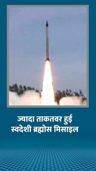 मिसाइल के लैंड अटैक वर्जन का टेस्ट सफल, 400 किमी तक आवाज से तीन गुना रफ्तार से करेगी वार - देश - Dainik Bhaskar