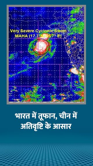 दिसंबर से जनवरी के बीच भारत में तूफान और तेज सर्दी तो चीन में हो सकती है अतिवृष्टि - विदेश - Dainik Bhaskar