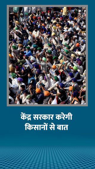 दिल्ली-हरियाणा के 2 बॉर्डर आज भी बंद, दोपहर 3 बजे सरकार ने किसानों को बातचीत के लिए बुलाया - देश - Dainik Bhaskar