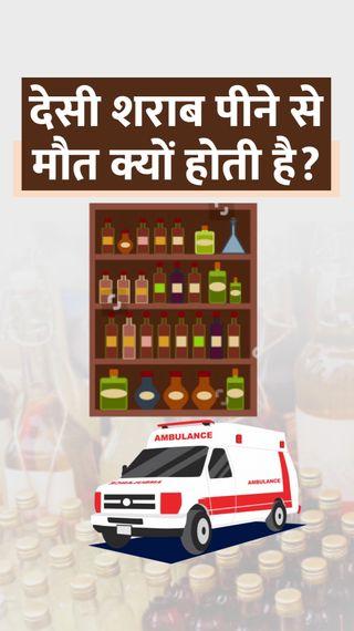 देसी शराब को नशीली बनाने के लिए यूरिया और ऑक्सीटोसिन मिलाते हैं, यही पेट में जहर बन जाता है, जानिए क्या है इलाज - ज़रुरत की खबर - Dainik Bhaskar