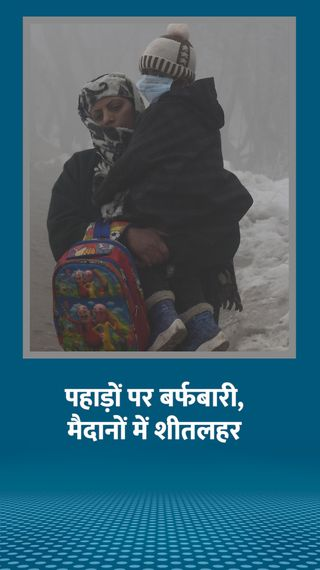 हरियाणा में अगले 4 दिन शीतलहर का अनुमान, शिमला से भी ठंडा रहा अमृतसर - देश - Dainik Bhaskar