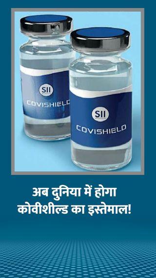 सीरम इंस्टीट्यूट की कोवीशील्ड वैक्सीन को WHO से मिल सकती है दुनियाभर में इस्तेमाल की मंजूरी - वैक्सीन ट्रैकर - Dainik Bhaskar