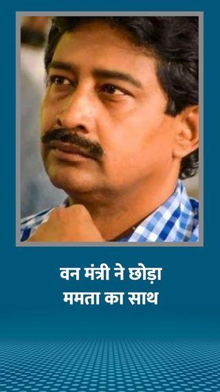 अब ममता के वन मंत्री राजीब बनर्जी का इस्तीफा; पार्टी ने विधायक बैशाली डालमिया को निकाला - देश - Dainik Bhaskar