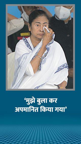 जय श्रीराम के नारों पर भाषण दिए बगैर लौटीं; कहा- कार्यक्रम में बुलाकर बेइज्जती करना ठीक नहीं - देश - Dainik Bhaskar