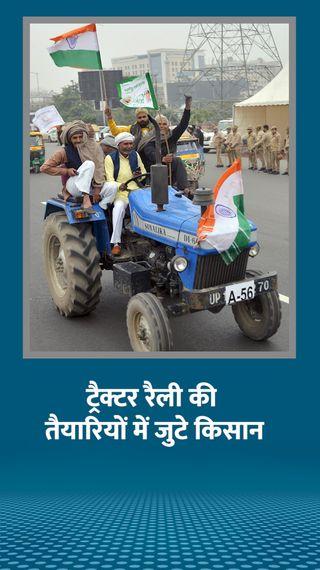 किसान नेता बोले- अभी 26 जनवरी की ट्रैक्टर परेड पर फोकस, उसके बाद स्ट्रैटजी तय करेंगे - देश - Dainik Bhaskar