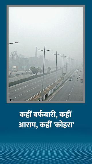 हिमाचल के 4 जिलों में तापमान माइनस में, राजस्थान के आबू में पारा फिर जीरो हुआ - देश - Dainik Bhaskar