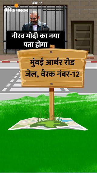 भारत आने के बाद नीरव मोदी का नया ठिकाना होगा- आर्थर रोड जेल की बैरक नंबर-12; यहां होंगी सारी सुविधाएं - एक्सप्लेनर - Dainik Bhaskar