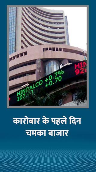 सप्ताह में कारोबार के पहले दिन बीएसई 749 अंक और निफ्टी 232 पॉइंट ऊपर बंद हुआ; MMTC के शेयर में 20% का उछाल रहा - मार्केट - Dainik Bhaskar