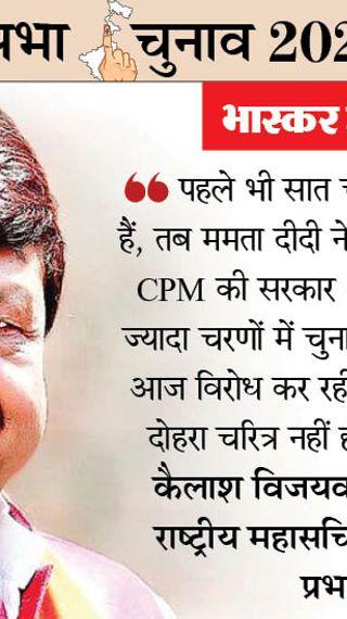 जिस CM को जय श्रीराम गाली लगे; उसकी बुद्धि की आप कल्पना कर सकते हैं, यही नारा ममता को सत्ता से हटाएगा - ओरिजिनल - Dainik Bhaskar