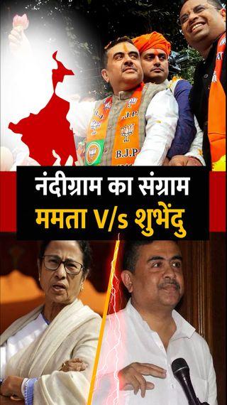 शुभेंदु अधिकारी बोले- नंदीग्राम से चुनाव लड़ना कोई चुनौती नहीं, ममता 50 हजार वोटों से हारेंगी - देश - Dainik Bhaskar