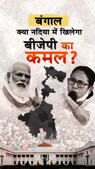 यहां मतुआ वोटर्स सबसे ज्यादा, अवैध घुसपैठ और हिंदु-मुस्लिम का मुद्दा BJP के फेवर में; TMC के लिए एंटी इनकम्बेंसी मुसीबत - ओरिजिनल - Dainik Bhaskar