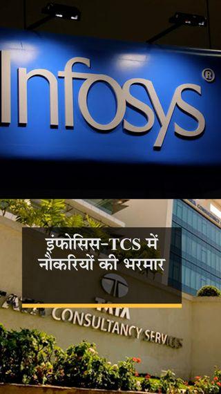 कंपनी इस साल 26 हजार फ्रेशर्स को नौकरी देगी, 25% ज्यादा दाम पर अपने शेयर वापस खरीदेगी - बिजनेस - Dainik Bhaskar