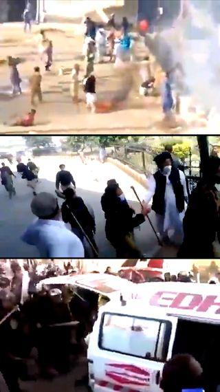 हिंसक प्रदर्शन कर रही TLP में फौजियों के शामिल होने का दावा, इमरान बोले- इस्लाम का सियासी फायदा उठा रहा संगठन - विदेश - Dainik Bhaskar