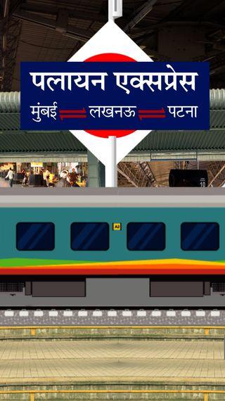बहन की शादी के लिए पैसा कमाने गए थे मुंबई, लेकिन मजबूरी में लौटे; क्वारैंटाइन होने से बचने के लिए जान पर खेलकर ट्रेन से कूदे - ओरिजिनल - Dainik Bhaskar