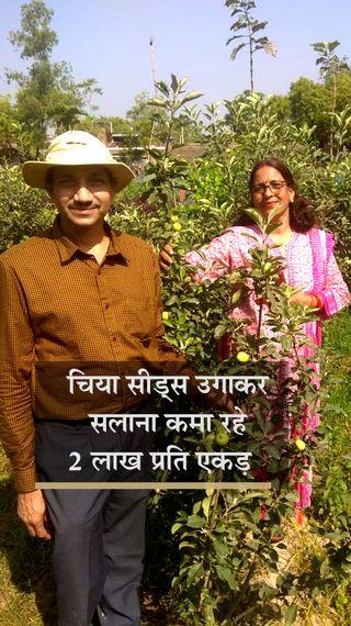ड्रैगन फ्रूट और चिया सीड्स की खेती से 3 गुना मुनाफा कमा रहे हैं आर्मी से रिटायर्ड कर्नल, PM मोदी भी कर चुके हैं तारीफ - ओरिजिनल - Dainik Bhaskar