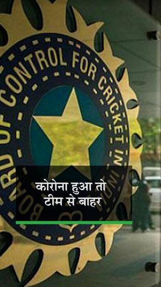 BCCI की खिलाड़ियों को दो टूक, कहा- जो कोविड से बच पाएगा, वही इंग्लैंड दौरे पर जाएगा - क्रिकेट - Dainik Bhaskar