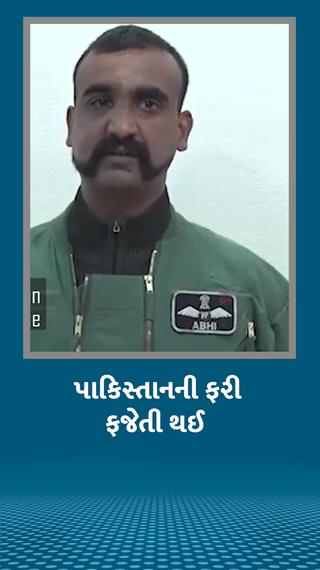 પાકિસ્તાને વિંગ કમાન્ડર અભિનંદનની અટકાયત કરી તે સમયના નિવેદનનો નવો વીડિયો જાહેર કર્યો, આ વીડિયોમાં 15 કટ છે - વર્લ્ડ - Divya Bhaskar