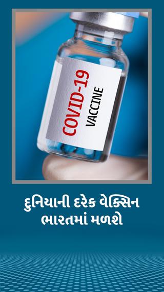 દુનિયામાં જે પણ વેક્સિનનો ઇમર્જન્સી ઉપયોગ થઈ રહ્યો છે એ દરેકને ભારતમાં મંજૂરી - ઈન્ડિયા - Divya Bhaskar