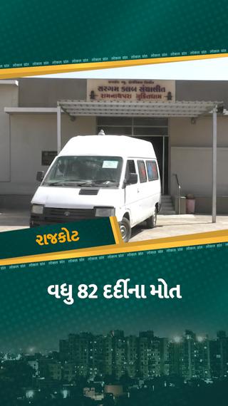 રાજકોટ 24 કલાકમાં 82ના મોત, દર એક કલાકે 3થી વધુ દર્દી અંતિમ શ્વાસ લે છે, બપોર સુધીમાં 318 કેસ નોંધાયા - રાજકોટ - Divya Bhaskar