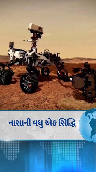 મંગળના વાયુમંડળમાં શ્વાસ લેવા યોગ્ય ઓક્સિજન બનાવ્યો; એક અંતરિક્ષયાત્રી 10 મિનિટ શ્વાસ લઈ શકે છે - વર્લ્ડ - Divya Bhaskar