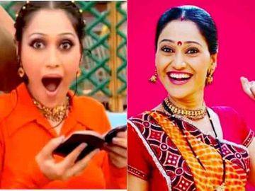 હંમેશાં ગરબા રમતાં દયાભાભીનાં ઠુમકા લગાવતો ડાન્સ વીડિયો સો.મીડિયામાં વાઇરલ ટીવી,TV - Divya Bhaskar