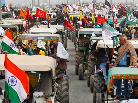 पुलिस का दावा- किसान नेताओं के साथ 3 रूट्स पर सहमति; देश विरोधी तत्व गड़बड़ी फैला सकते हैं|देश,National - Dainik Bhaskar