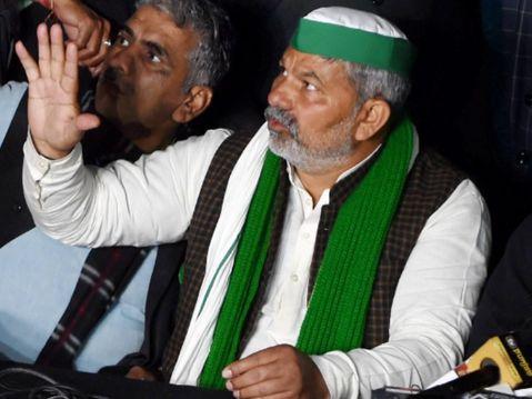 गाजीपुर बॉर्डर पर बिजली काटने पर टिकैत बोले- कोई दिक्कत हुई तो सरकार जिम्मेदार होगी|देश,National - Dainik Bhaskar