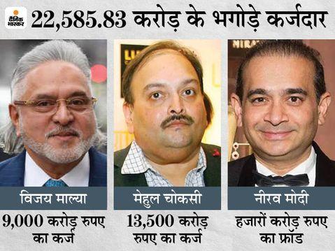 नीरव मोदी, मेहुल चौकसी और विजय माल्या की जब्त संपत्ति ED केंद्र और बैंकों को देगी; 41% कर्ज वसूली की उम्मीद|इकोनॉमी,Economy - Money Bhaskar