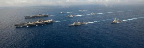 सेव्हन्थ फ्लिट हा अमेरिकेच्या नौदलाचा सर्वात मोठा ताफा आहे. यामध्ये 60-70 जहाजे, 200-300 विमान आणि 40 हजार नेव्ही आणि मरीन कॉर्प्सचे जवान तैनात आहेत.