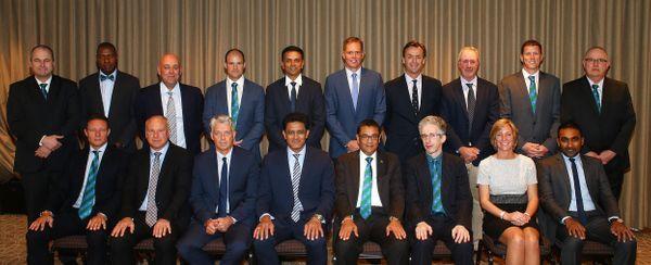 ICC ક્રિકેટ કમિટીના સભ્યો.