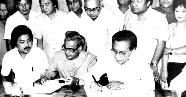 30 जून 1986 को मिजोरम के नेताओं ने मिजो पीस एकॉर्ड पर हस्ताक्षर किए थे। इसमें ही सीमा तय की गई है। पर नियम 1875 को माने या 1933 को, इस पर ही असम और मिजोरम के बीच विवाद बना हुआ है। मिजोरम कहता है कि 1875 के नियमों का पालन किया जाए।