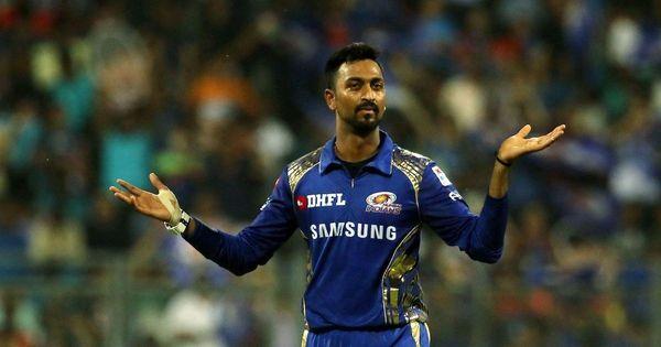 IPL 2016 અને 2017માં શાનદાર દેખાવ બાદ કૃણાલને 2018માં ઇન્ડિયાને રિપ્રેઝેન્ટ કરવાની તક મળી હતી.
