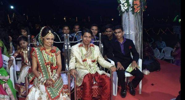 2015 में धर्मज गांव की रहने वाली रुचिता से हुई थी किंशुक की शादी।