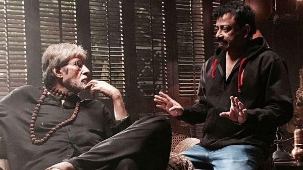 अमिताभ बच्चन और राम गोपाल वर्मा।