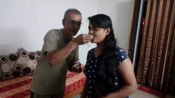 આપઘાતમાં મોતને ભેટેલા પિતા અને પુત્રીની ફાઇલ તસવીર
