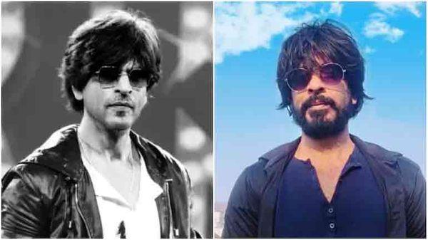 बाईं ओर शाहरुख खान, दाईं ओर इब्राहिम कादरी