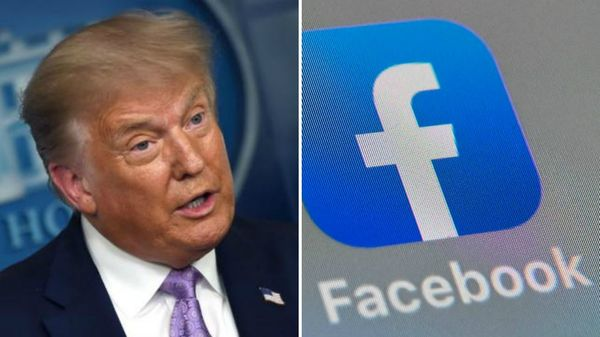डोनाल्ड ट्रंप के खिलाफ सख्त रुख अपनाने के लिए फेसबुक ने ट्रंप का फेसबुक अकाउंट दो साल के लिए सस्पेंड कर दिया है।