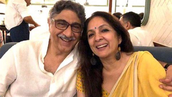 पति के साथ नीना गुप्ता