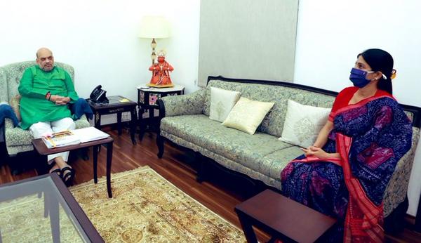 अपना दल (एस) की अध्यक्ष अनुप्रिया पटेल ने भी गुरुवार को गृहमंत्री अमित शाह से मुलाकात की।